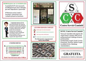 Brochure del Centro Servizi Caminiti