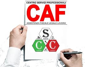 Tariffario Sportello Caf del Centro Servizi Caminiti