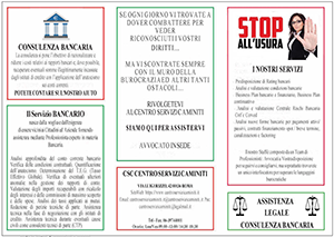 Brochure Bancaria Centro Servizi Caminiti