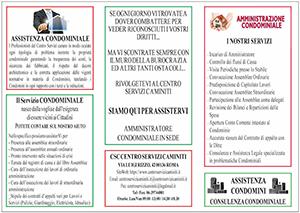 Brochure Condominio Centro Servizi Caminiti