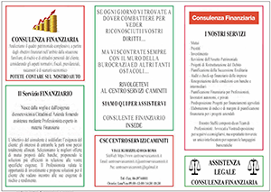 Brochure Finanziario Centro Servizi Caminiti