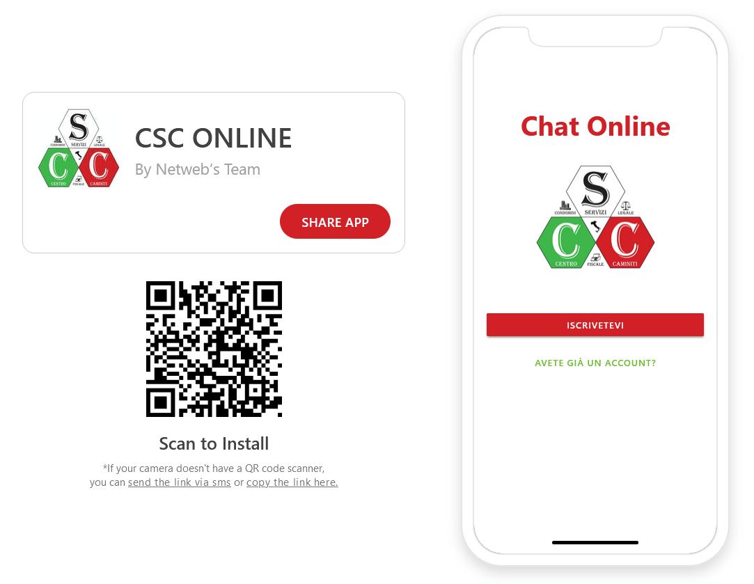 App Chat CSC Online Ita